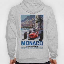 Grand Prix Monaco, 1965, vintage poster, race poster Hoody