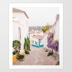 Romantic Village Art Print