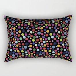BlackDots Rectangular Pillow