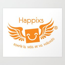 Happixs t-shirt Art Print