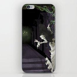 When candelights flicker... iPhone Skin