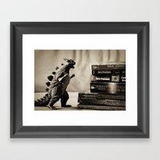 Nerdy Framed Art Print