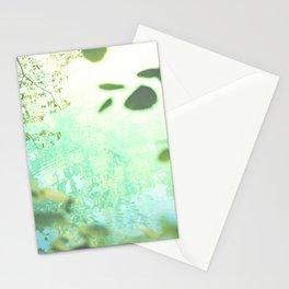 Green softness No1 Stationery Cards
