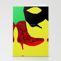 shoes Stationery Cards featuring Shoes by BUBUBABA