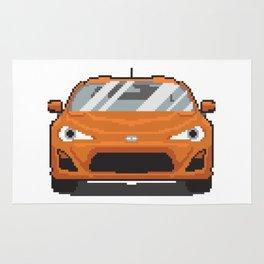 Orange 2013 FR-S Rug