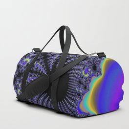 Fascinating Fractal Duffle Bag