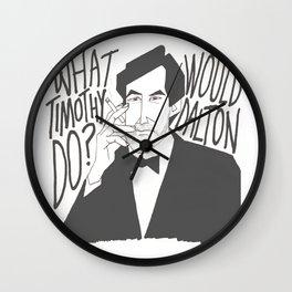 Timothy Dalton (WWTDD) Wall Clock