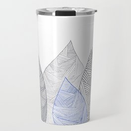 Pen & Ink Leaves Travel Mug