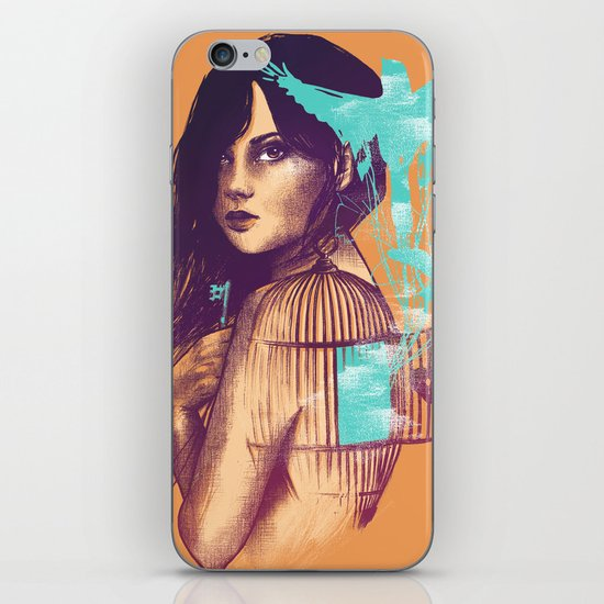 We Must Be Free iPhone & iPod Skin