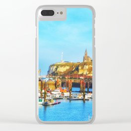 Dieppe Harbour Clear iPhone Case