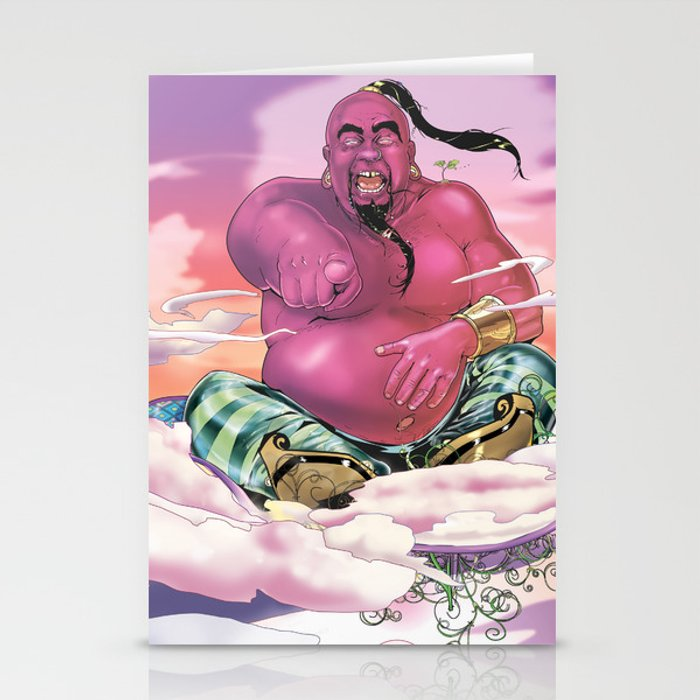 The Genie King Stationery Cards