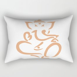 Ganapati Ganesh God Success Rectangular Pillow
