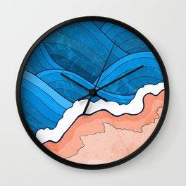 Seaside Beach Wall Clock