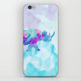 Abstract Rhino B iPhone Skin