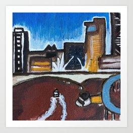 Brisbane River - Australia Art Print