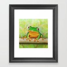 Taipei TreeFrog Framed Art Print