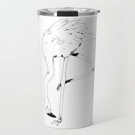 Flamingo Form Travel Mug