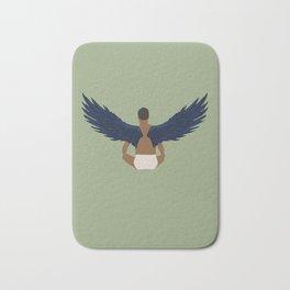 Bird Man Bath Mat