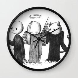 Crap Wall Clock