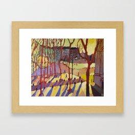 Sunrise Came Softly Framed Art Print