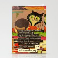 skyfall Stationery Cards featuring skyfall by karen owens