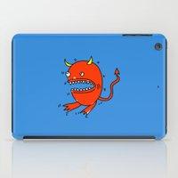 diablo iPad Cases featuring Huevo diablo by sitnuna