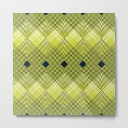 The Goldfinch - Pattern 5 Metal Print