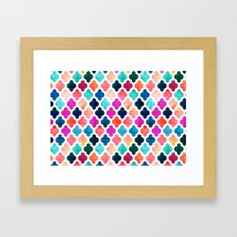 Marrakesh Moroccan Pink #homedecor #Moroccan Framed Art Print