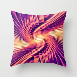 Into The Unknown C Throw Pillow