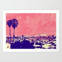LA 001 Art Print
