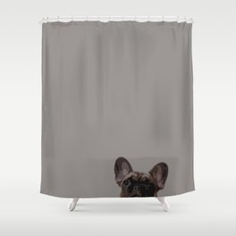 Peepers the French Bulldog II Shower Curtain