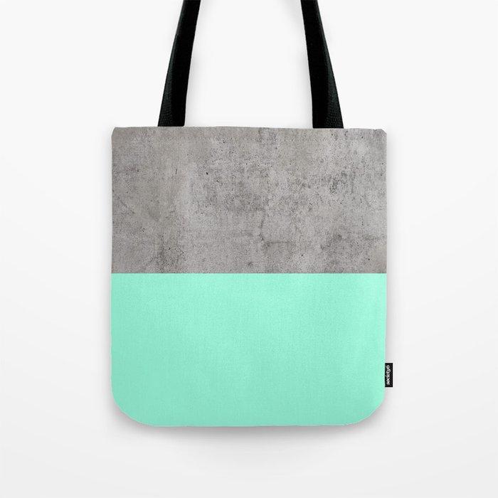 Sea on Concrete Tote Bag