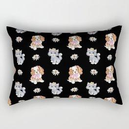 PUPPIES AND KITTENS Rectangular Pillow
