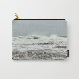 Sea Breaks on the Tidal Shelf Carry-All Pouch