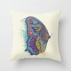 Butterfly Life Cycle Throw Pillow