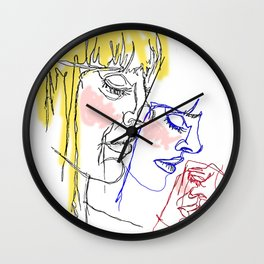 Layers in Primary Wall Clock