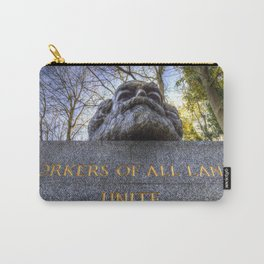 Karl Marx Memorial Carry-All Pouch