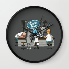 Roger's Place Wall Clock