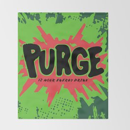 purge Throw Blanket