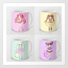 Cute new mugs available Art Print