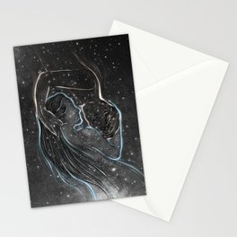 I met you everywhere. Stationery Cards