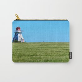 Lighthouse and the Crop Field Carry-All Pouch