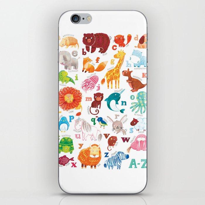 Animalphabet iPhone Skin