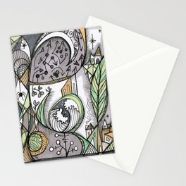 The Story Is Different Stationery Cards