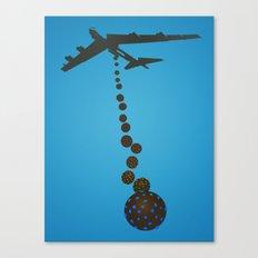 Chocolate Bombs Canvas Print