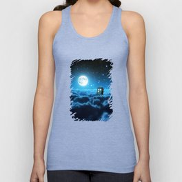 Tardis In Space Unisex Tank Top