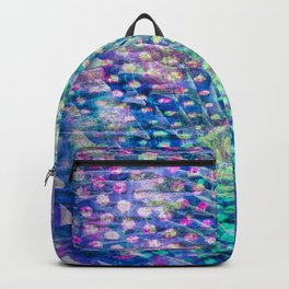 swirl and dots Backpack