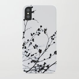 Winter Silhouettes 1 iPhone Case