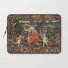 Franco Flemish Allegorical 17th Century Tapestry Print Laptop Sleeve