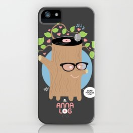 Anna Log iPhone Case